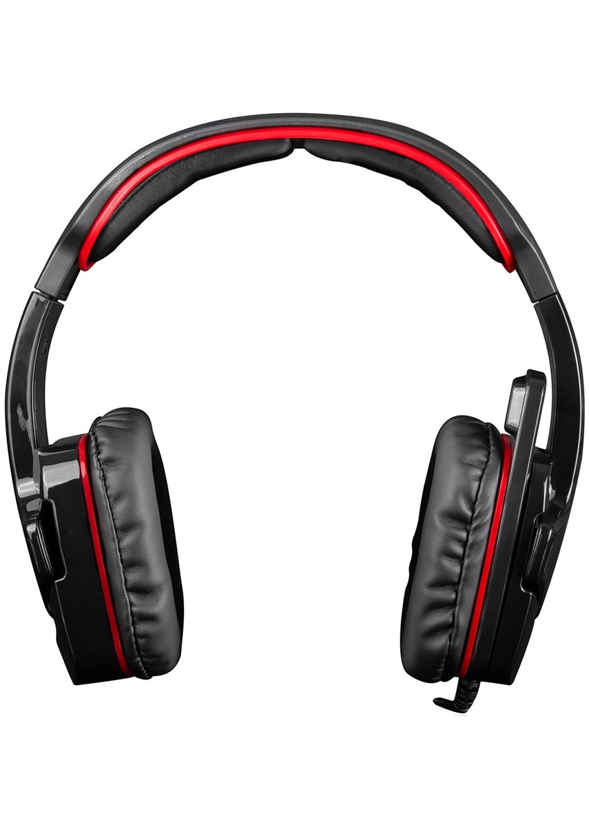 MODECOM ALIEN MC-829 Black/Red gamers headphones