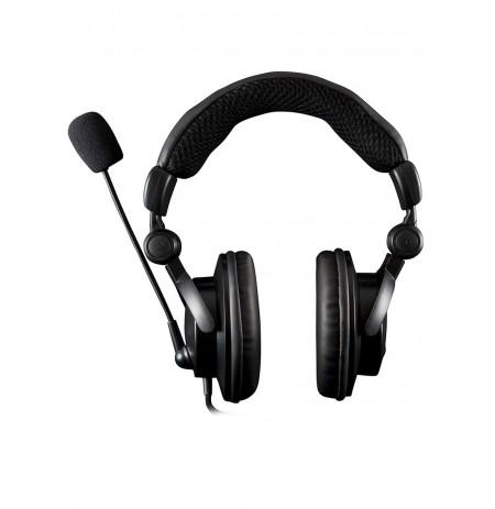 MODECOM HUNTER MC-826 Black/Red gamer headphones ausinės