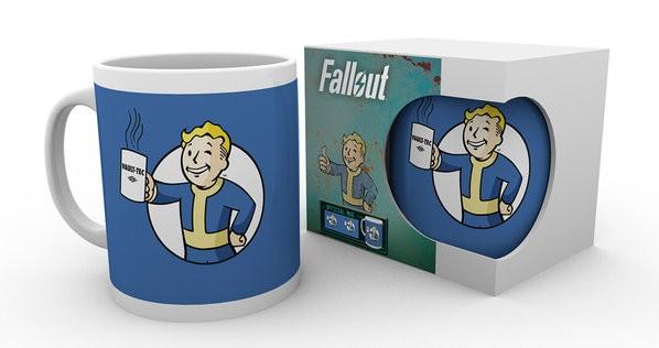 FALLOUT Vault Boy Holding Mug