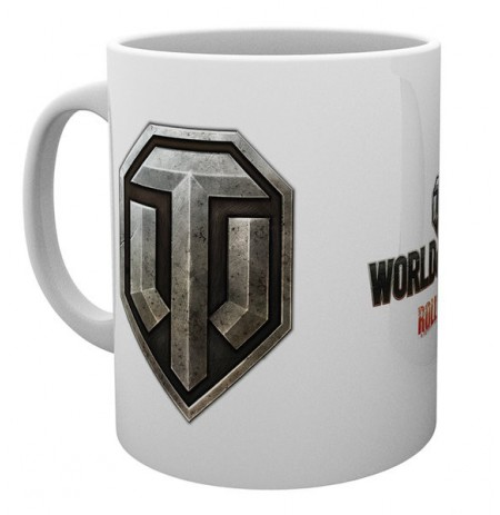 WORLD OF TANKS Logo puodukas