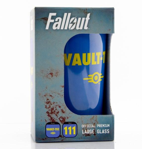 FALLOUT  Vault 111 large glass
