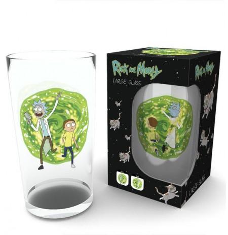 RICK AND MORTY Portal stiklinė