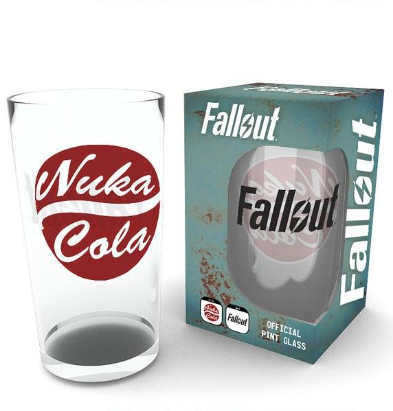 FALLOUT Nuka Cola Portal large glass