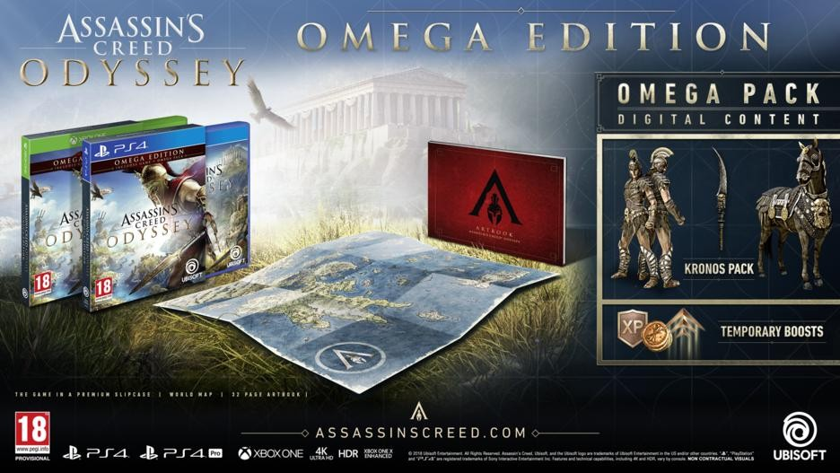 Assassin's Creed Odyssey: Omega Edition