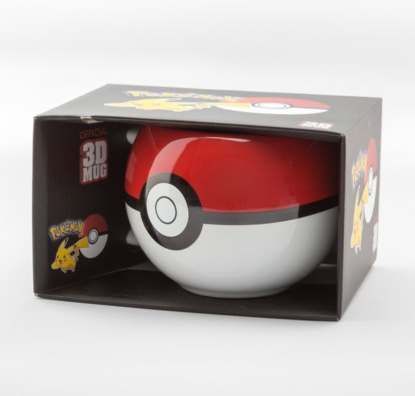 POKEMON Pokeball 3D puodukas