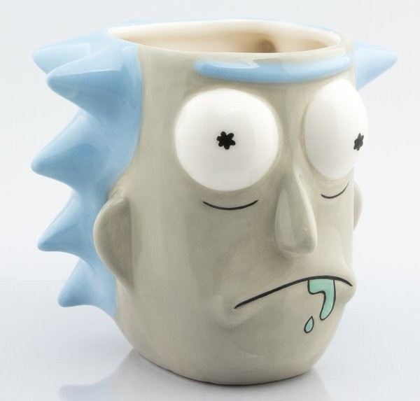 RICK AND MORTY Rick Sanchez 3D Mug