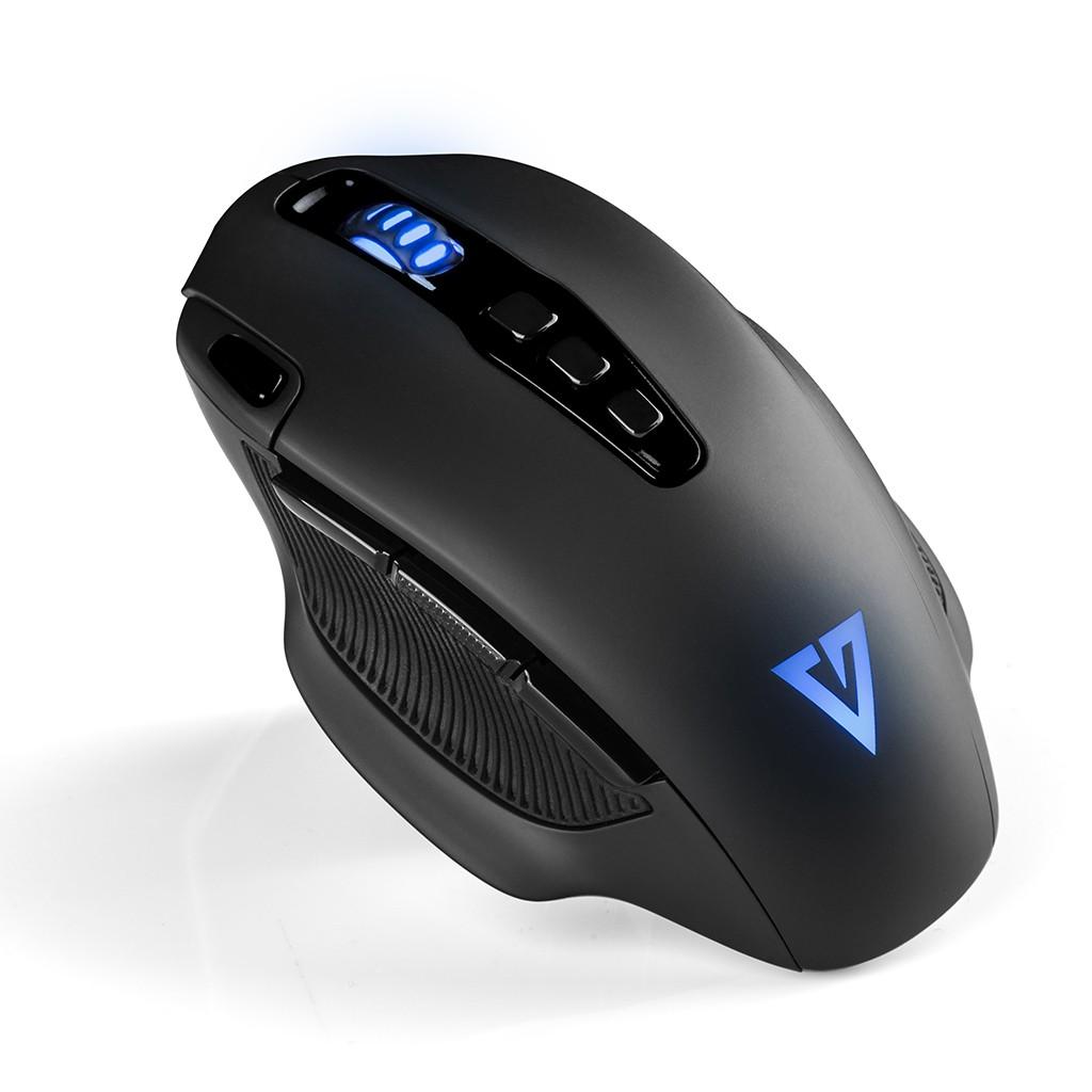 MODECOM VOLCANO GMX 5 BEAST juoda laidinė optinė pelė | 12000 DPI
