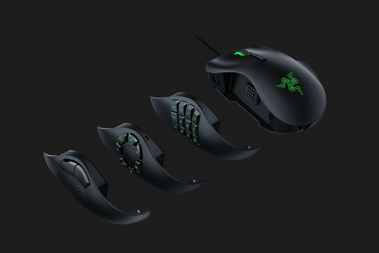 RAZER Naga Trinity Juoda laidinė pelė | 16000 DPI