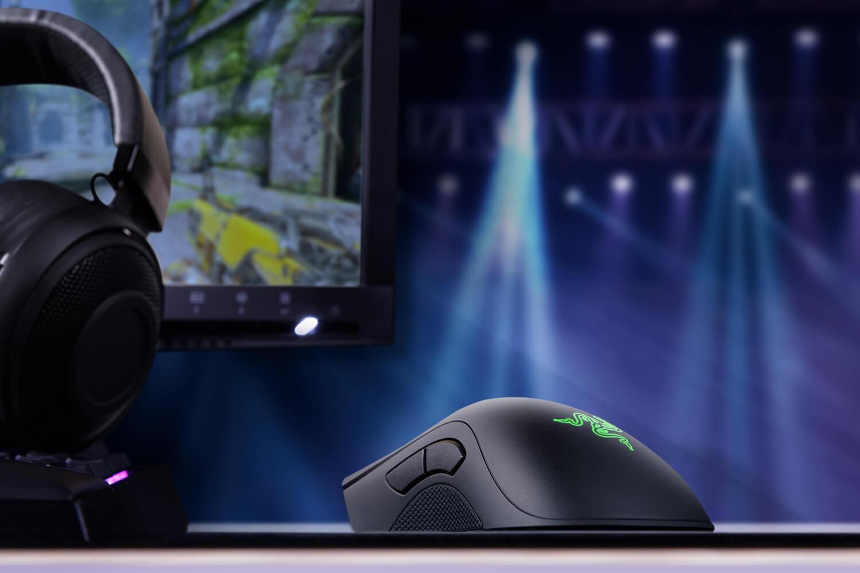RAZER DeathAdder Elite laidinė žaidimų optinė pelė | 16000 DPI