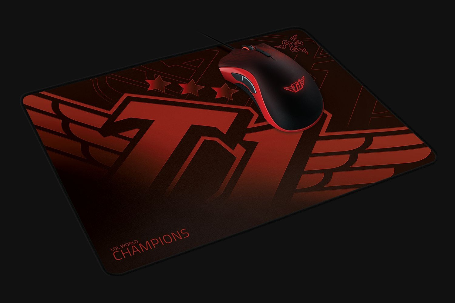 Razer Goliathus - Medium (Speed) - SKT T1 Ed. surface