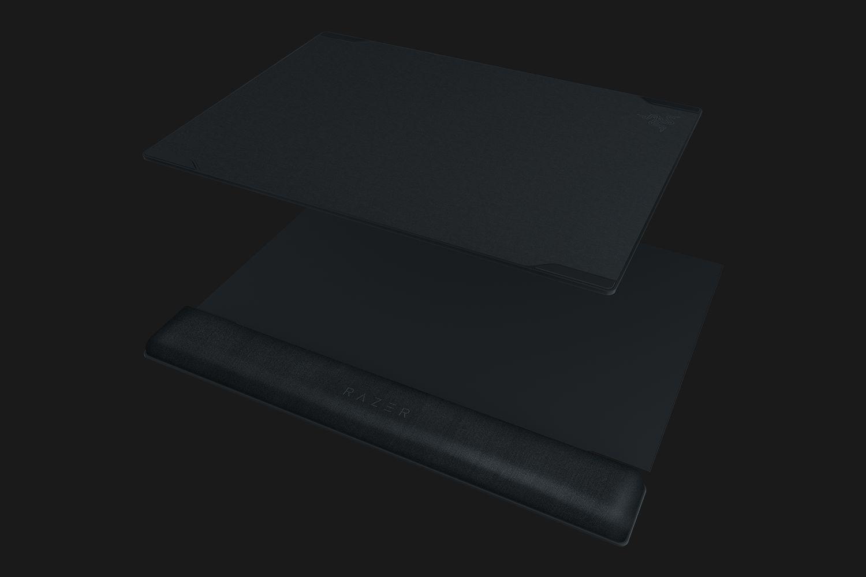 RAZER Vespula V2 320x272x22mm pelės kilimėlis su riešo atrama