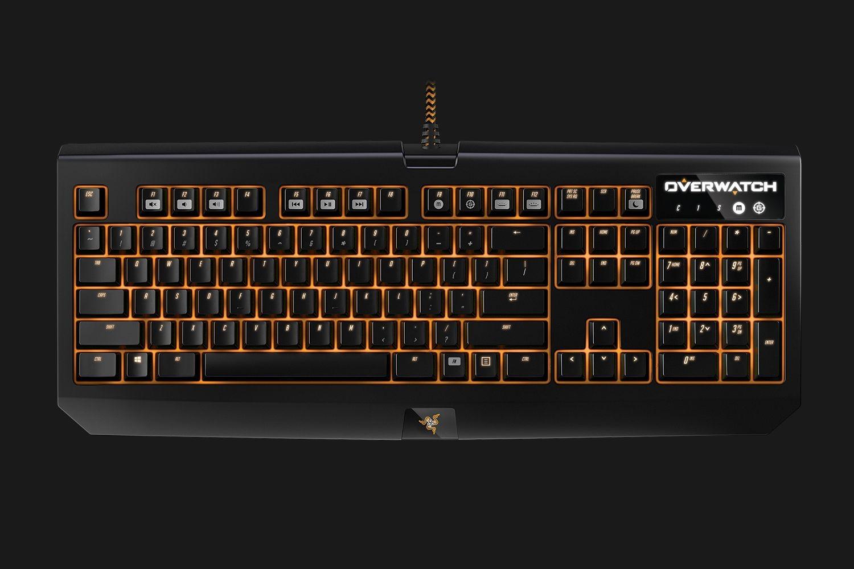 Razer BlackWidow Chroma mechaninė klaviatūra Overwatch Edition (US)