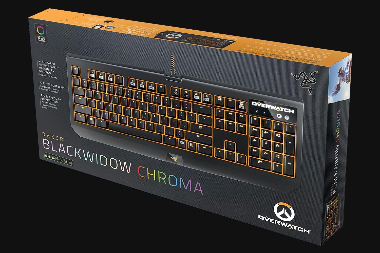 Razer BlackWidow Chroma - Overwatch Ed. - US Layout keyboard