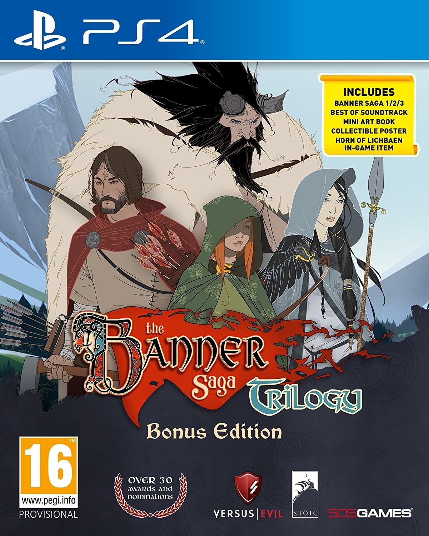 The Banner Saga Trilogy: Bonus Edition PS4