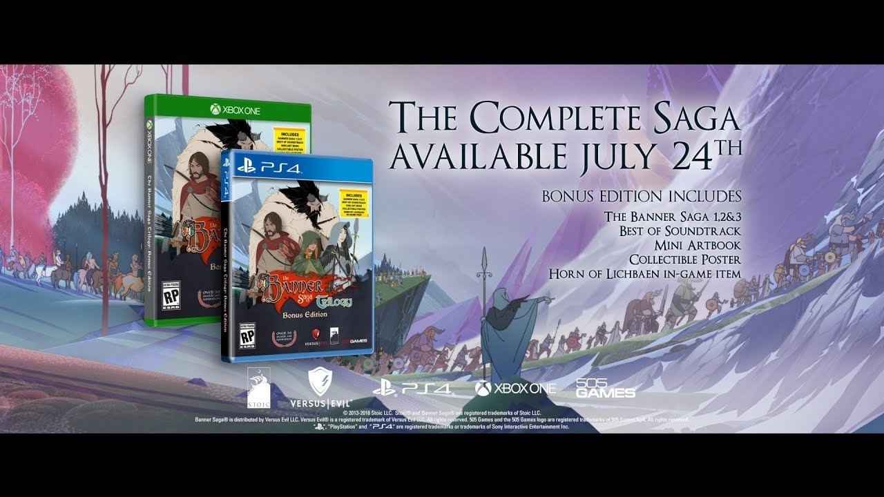 The Banner Saga Trilogy: Bonus Edition