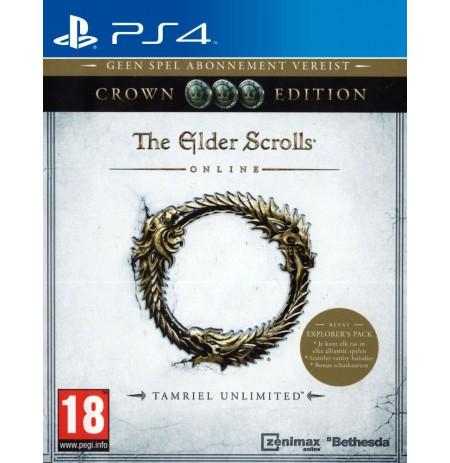 The Elder Scrolls Online: Tamriel Unlimited - Crown Edition PS4
