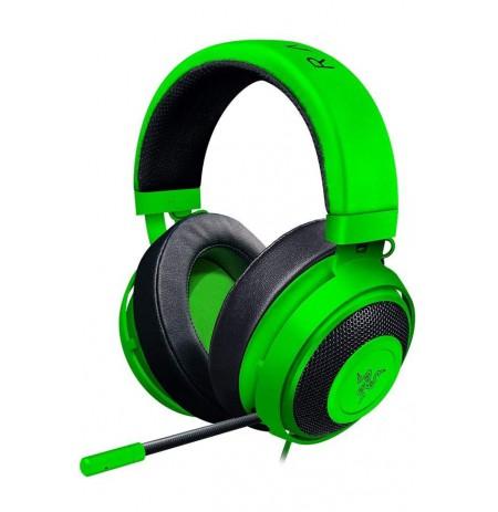 Razer Kraken Pro V2 Green - Oval ausinės