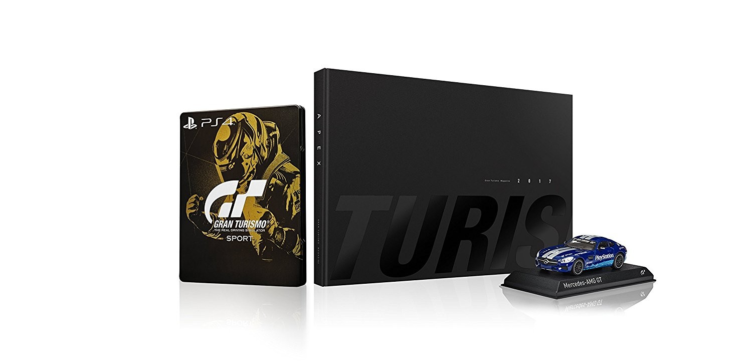 Gran Turismo: Sport Collectors Edition PS4
