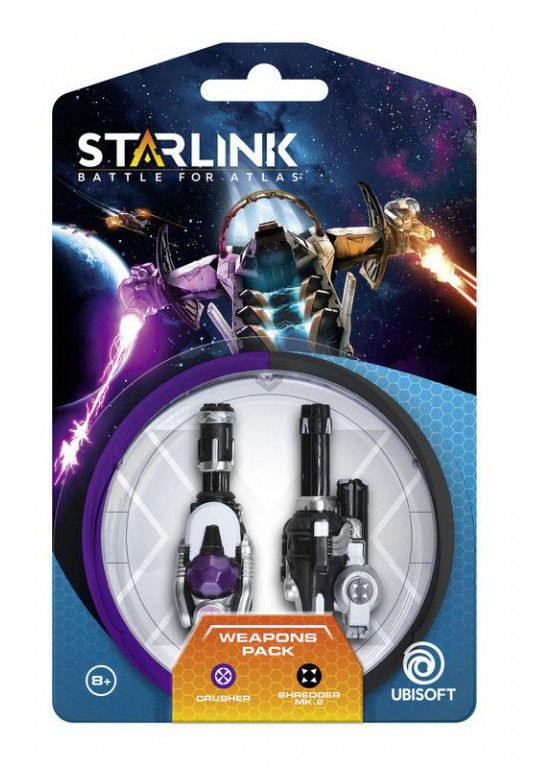 Starlink: Battle for Atlas - Crusher & Shredder Weapon Pack