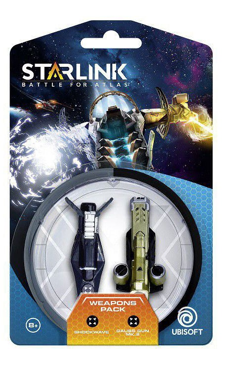 Starlink: Battle for Atlas - Shockwave & Gauss Weapon Pack