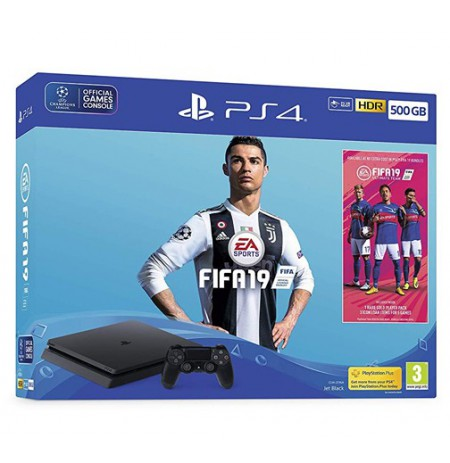 Žaidimų konsolė SONY PlayStation 4 (PS4) Slim 500GB - FIFA 18