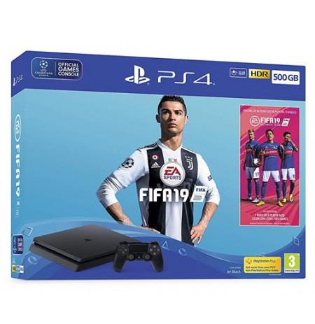 Žaidimų konsolė SONY PlayStation 4 (PS4) Slim 500GB (juoda) -
