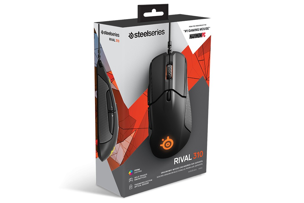 Steelseries Rival 310 Ergonomic Mouse gaming mouse