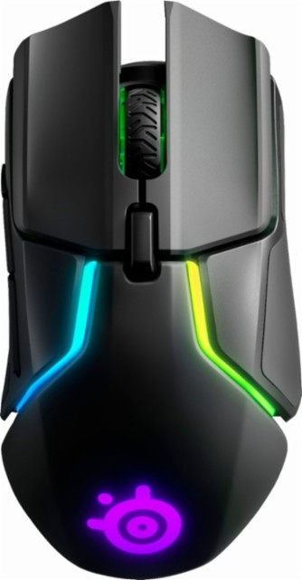 SteelSeries Rival 650 juoda belaidė optinė pelė | 12000 DPI