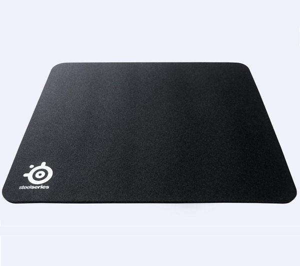 SteelSeries QcK+ Black 450x400x2mm pelės kilimėlis