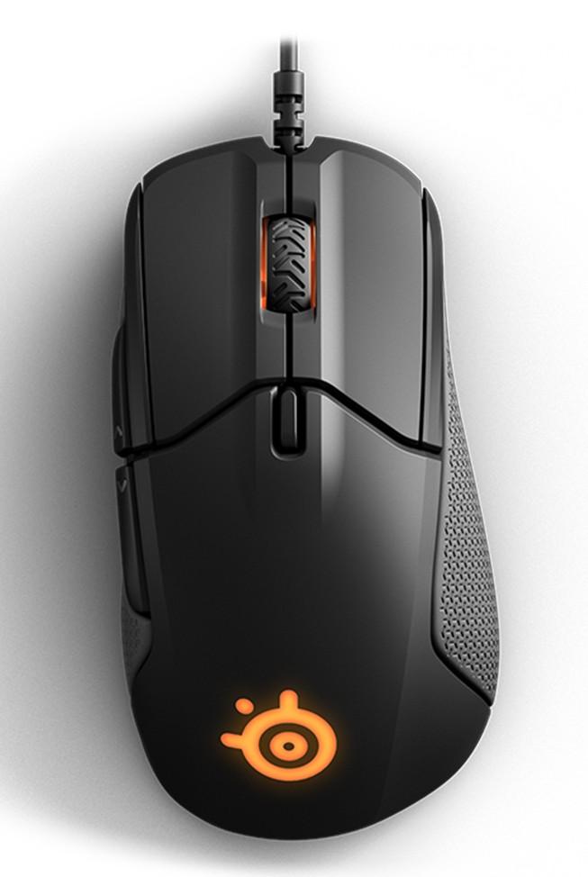 SteelSeries Rival 310 juoda laidinė optinė pelė | 12000 DPI