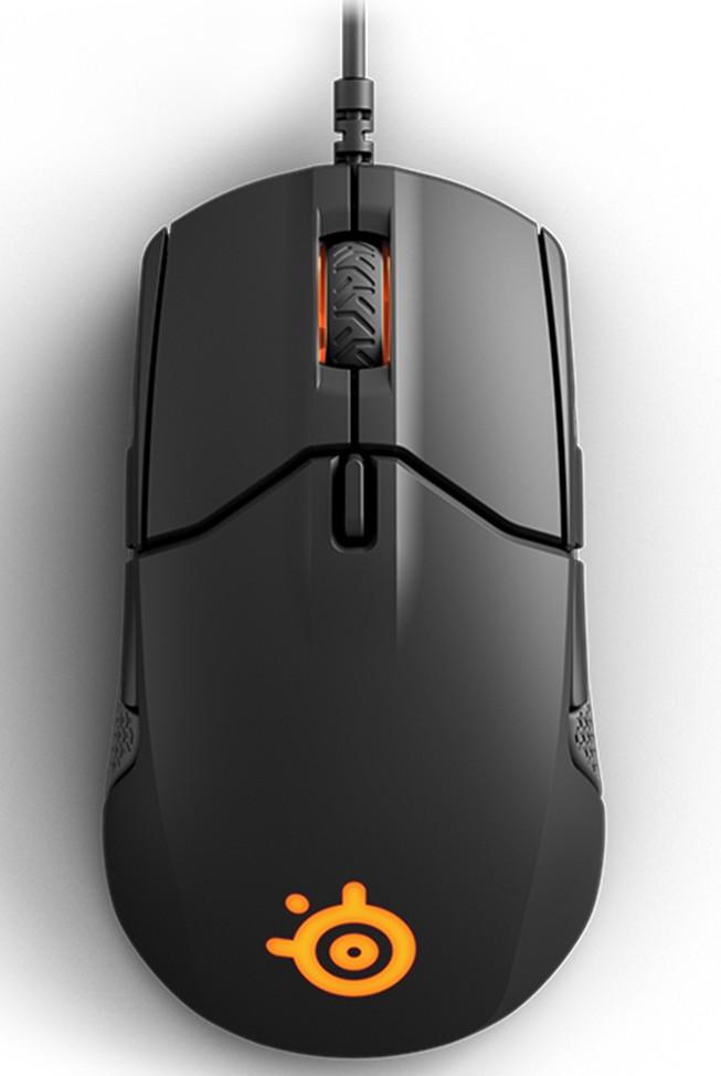 SteelSeries Sensei 310 juoda laidinė žaidimų optinė pelė | 12000 DPI