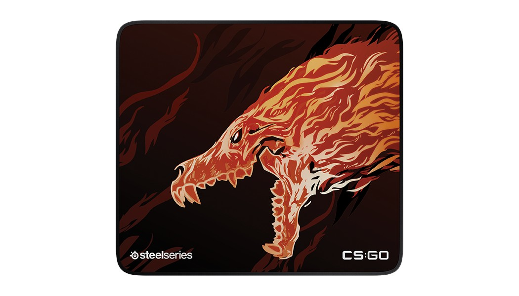 Steelseries QCK + Limited CS:GO Howl Ed. gaming mousepad