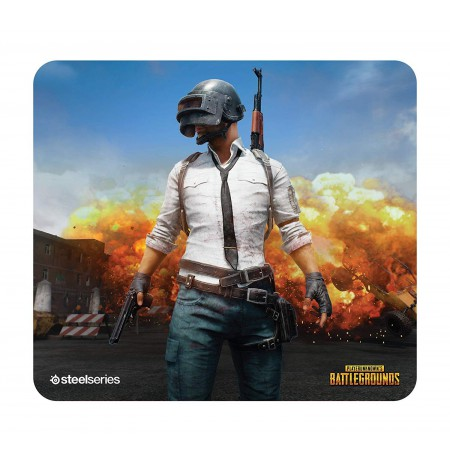 Steelseries Qck+ PUBG Erangel Edition gaming mousepad