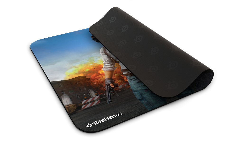 Steelseries Qck+ PUBG Erangel Edition gaming mousepad