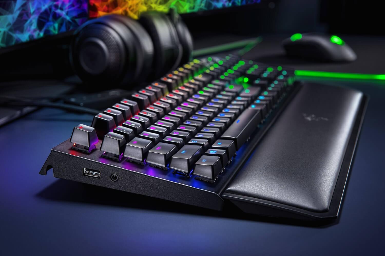 RAZER BlackWidow Elite laidinė mechaninė klaviatūra (US) (Green)