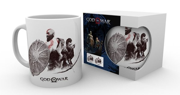 GOD OF WAR Kratos and Atreus mug