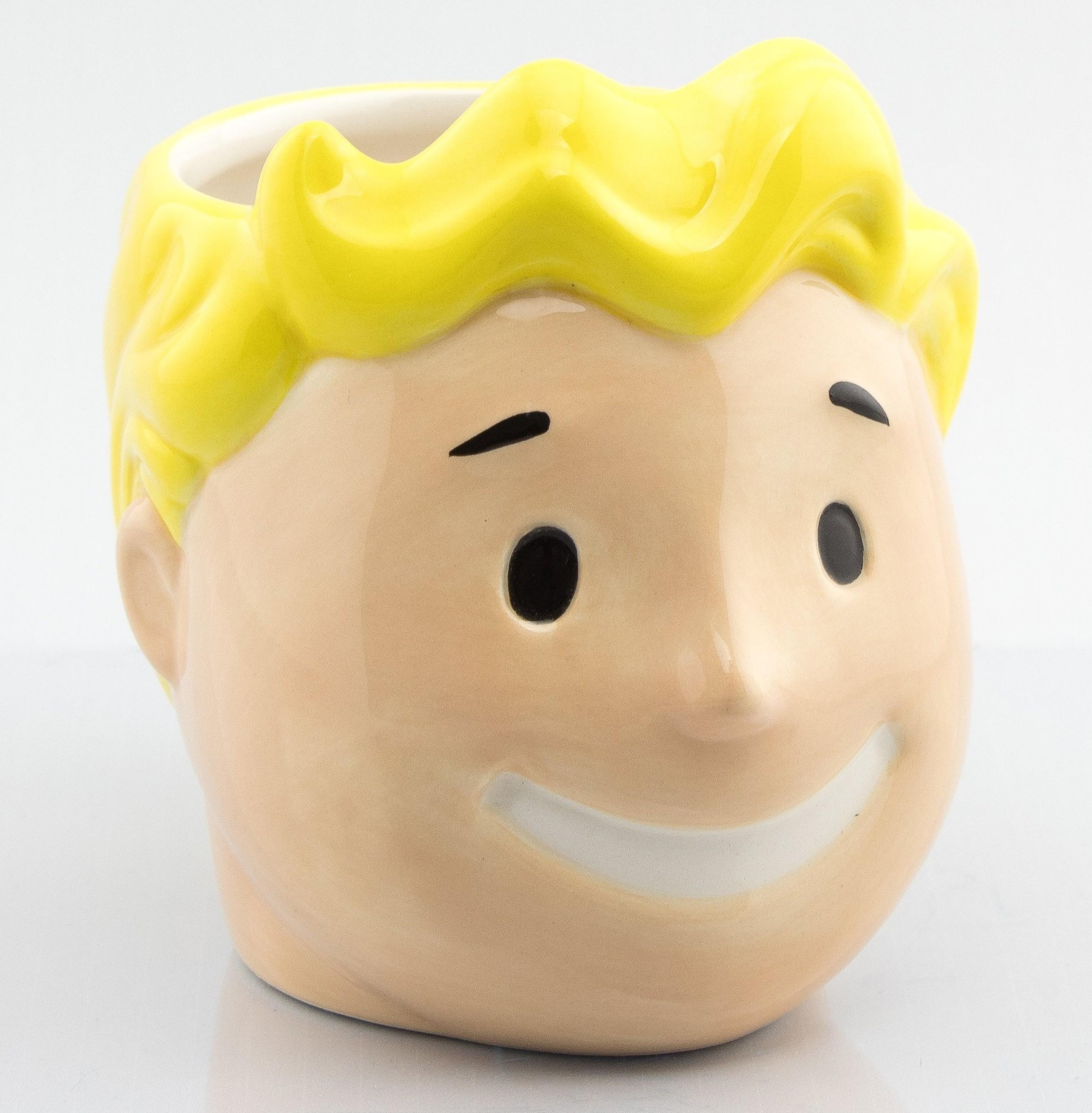 FALLOUT Vault Boy 3D puodukas