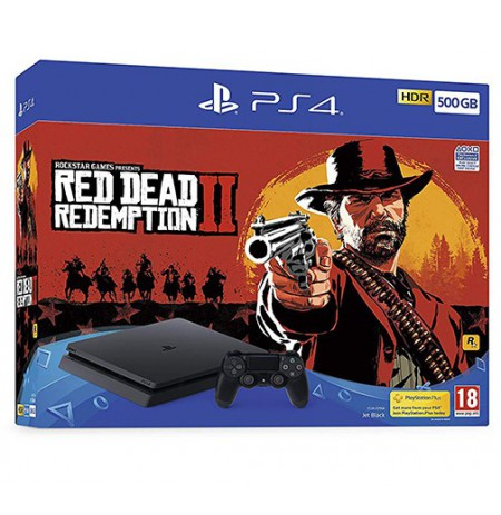 Žaidimų konsolė SONY PlayStation 4 (PS4) Slim 500GB - Red Dead