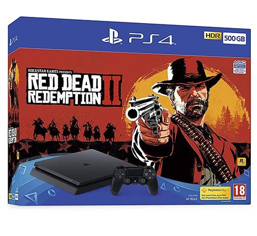 Žaidimų konsolė SONY PlayStation 4 (PS4) Slim 500GB - Red Dead