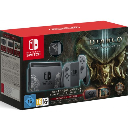 Nintendo Switch Diablo III Limited Edition console bundle (with Grey Joy-Con)