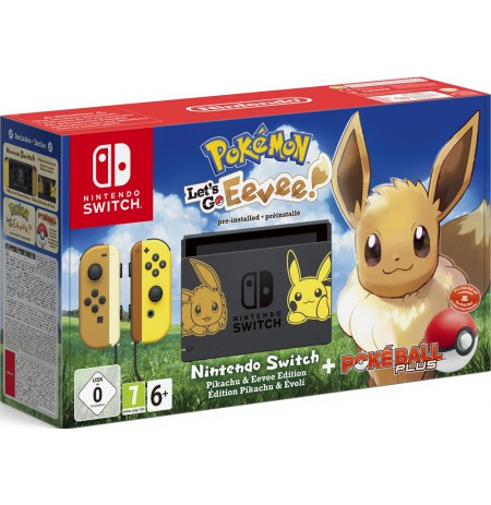 Pokemon: Let's Go, Eevee! Nintendo Switch bundles