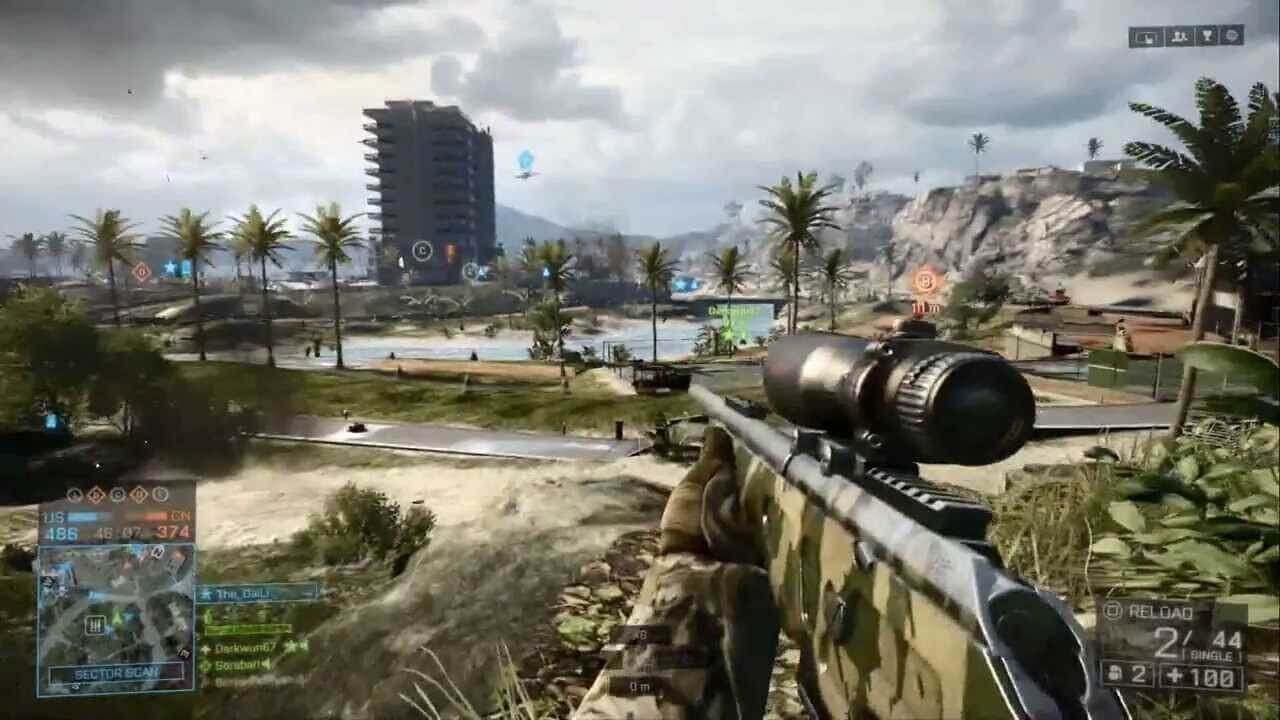 Battlefield 4 X360