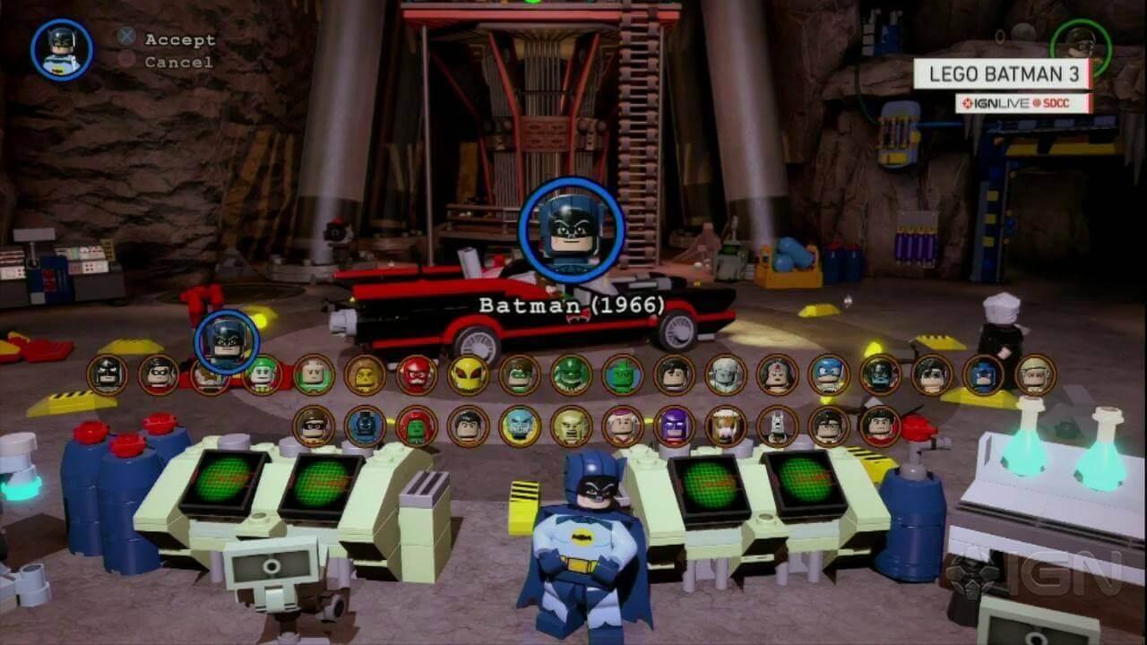 LEGO Batman 3 Beyond Gotham Classics X360