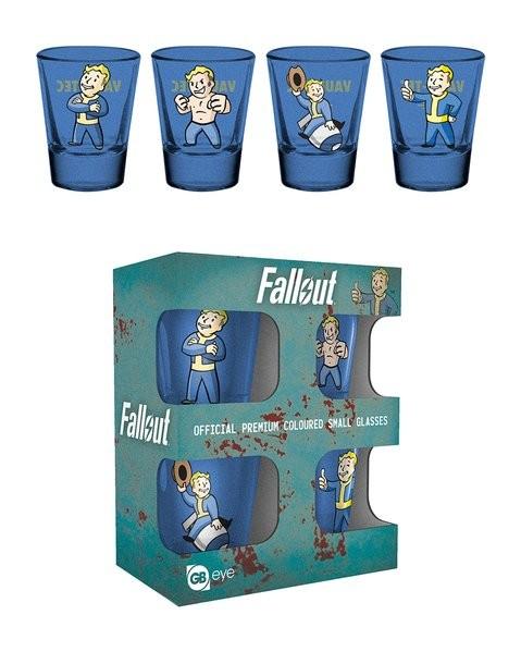 FALLOUT Vault Boy stikliukų rinkinys