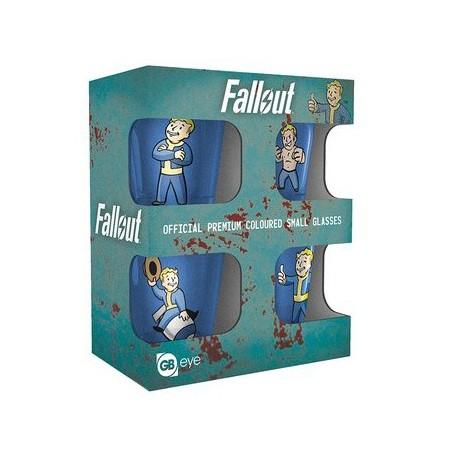Fallout stikliukų rinkinys