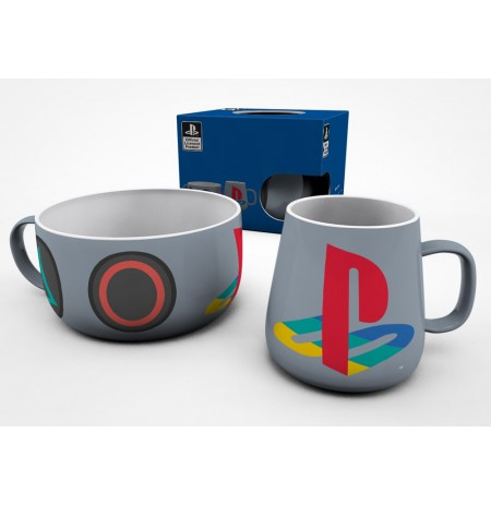 PLAYSTATION Classic pusryčių puodelių rinkinys
