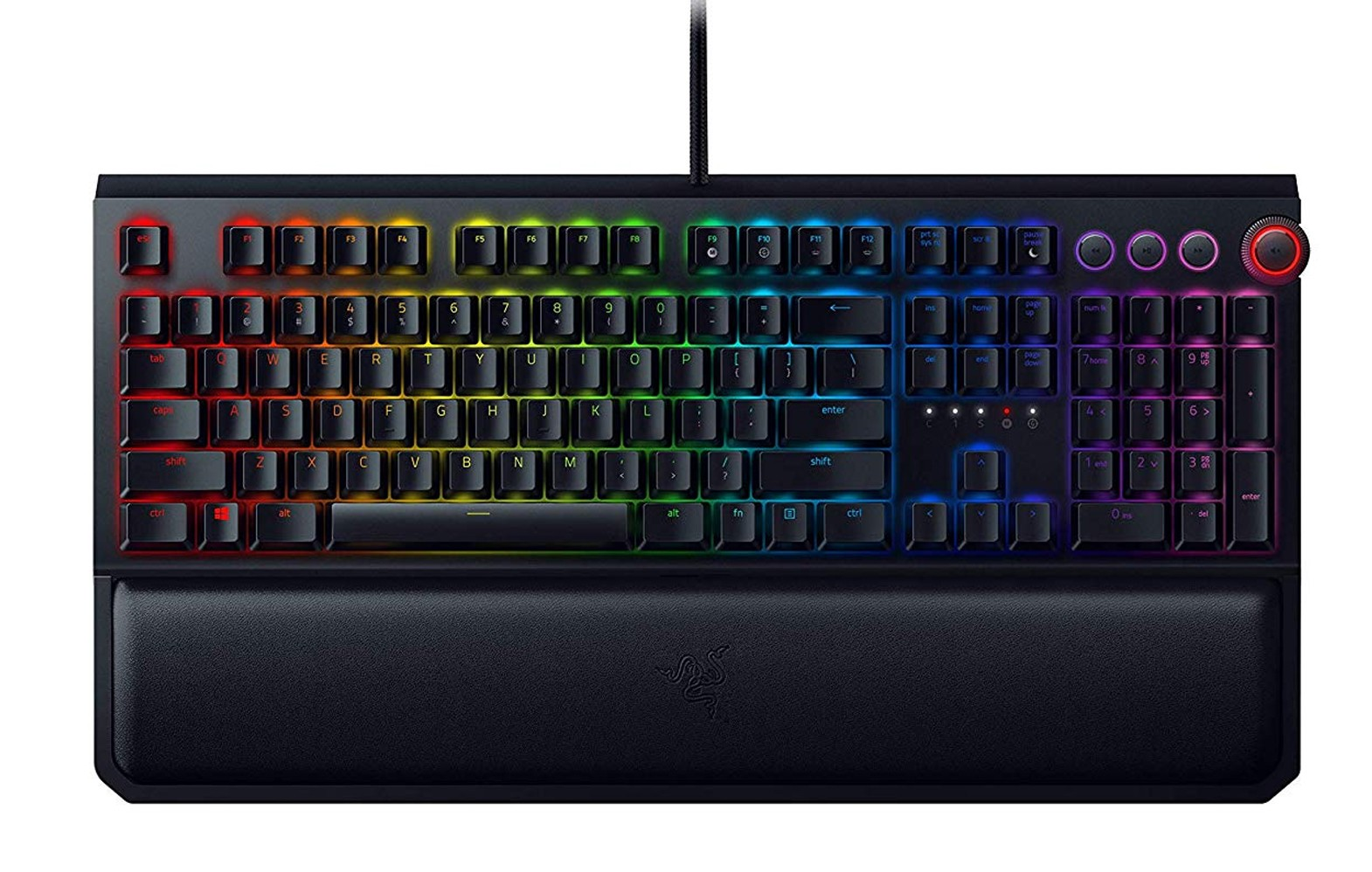 Razer BlackWidow Elite Orange switch keyboard