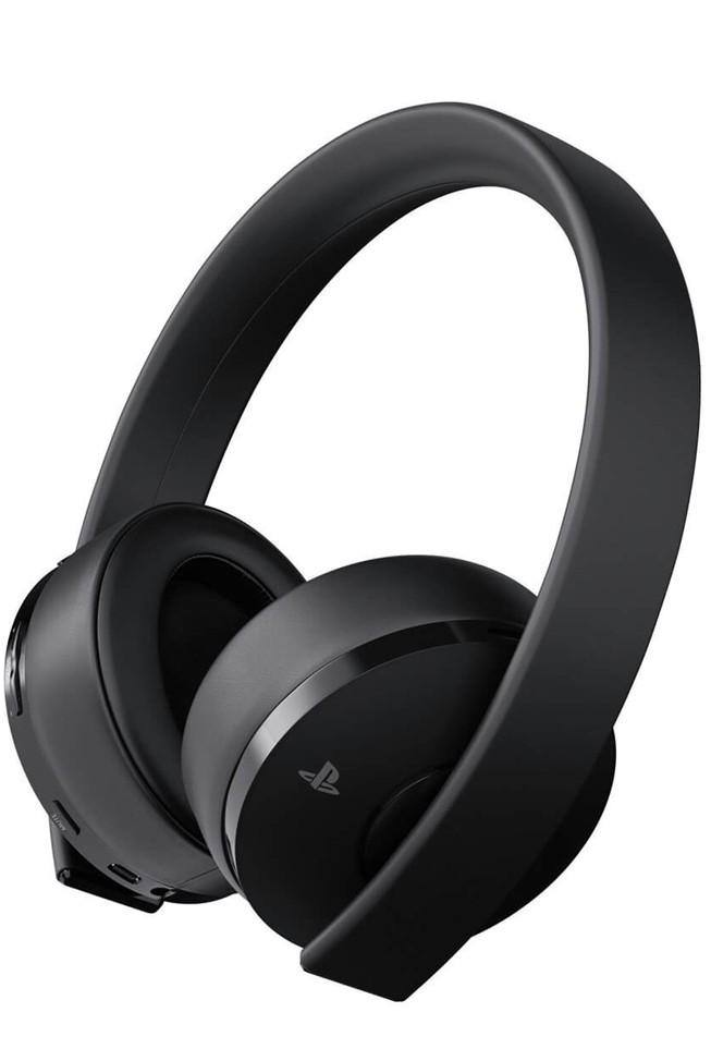 Sony PlayStation 4 Gold Wireless 7.1 Headset Black