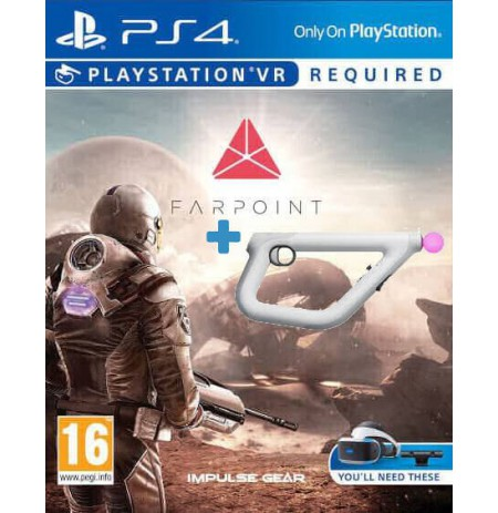 Farpoint + Sony PlayStation VR Aim Controller PS4
