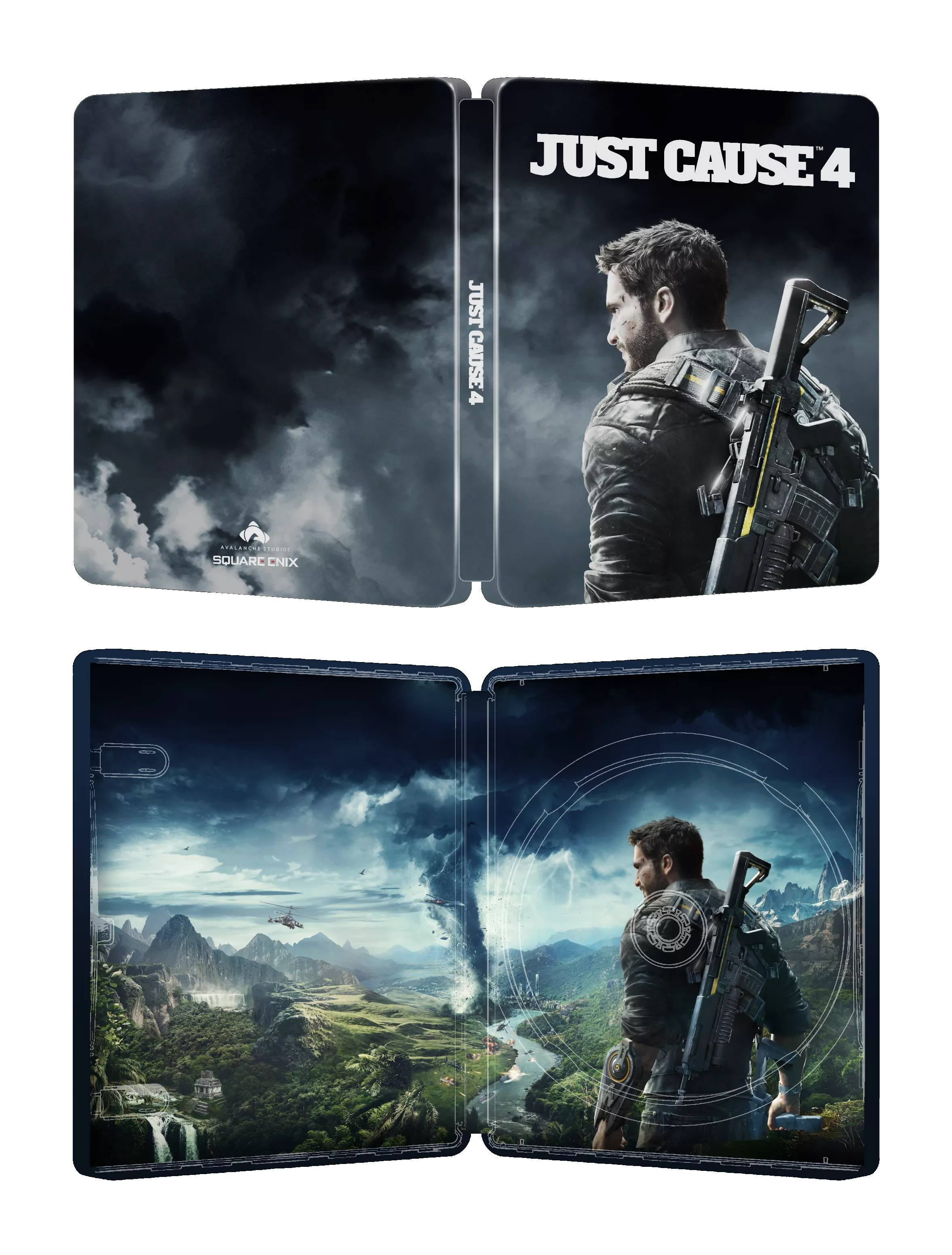 Just Cause 4 Steelbook Edition